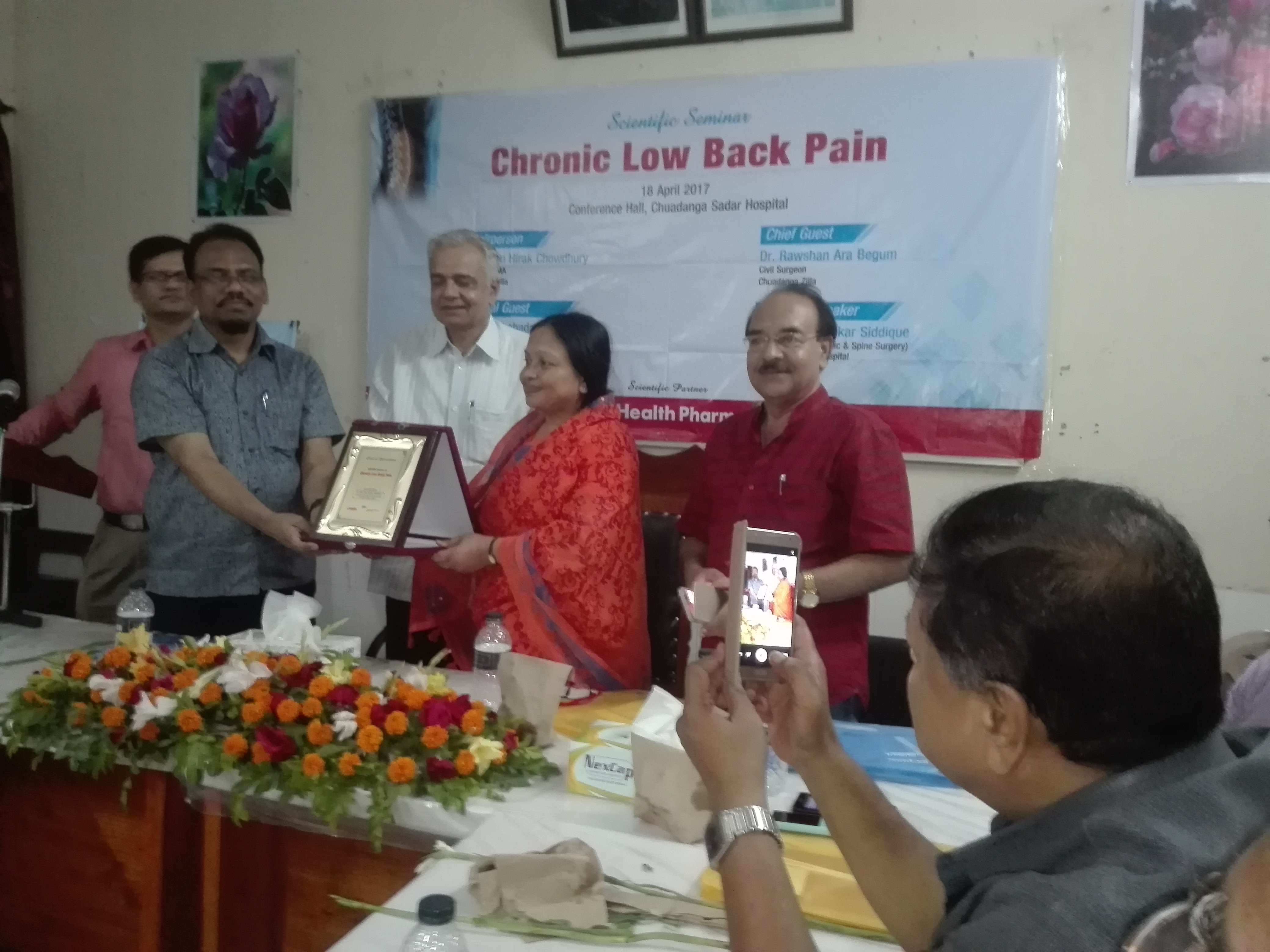 "The Scientific Seminar on ""Updated Management of Chronic Low Back Pain"""