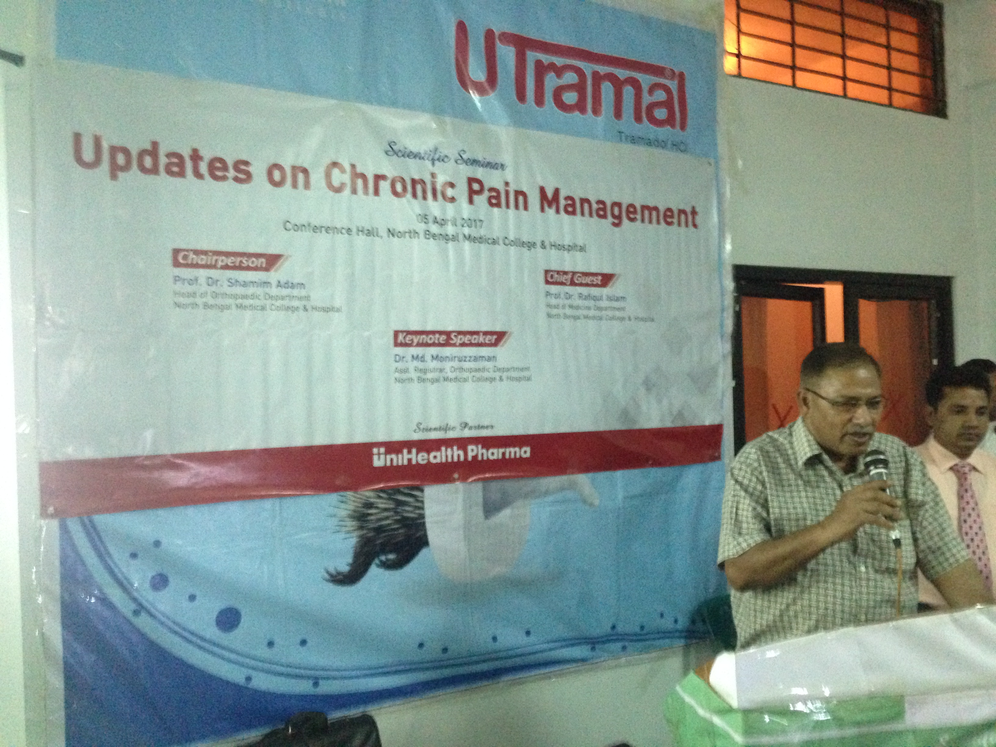 "The Scientific Seminar on ""Updates on Chronic Pain Management"""